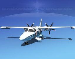 Dreamscape AF-44 Star Executive V11 3D Model