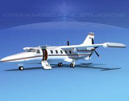 Dreamscape AF-46 Turbo Star Executive V02 3D Model