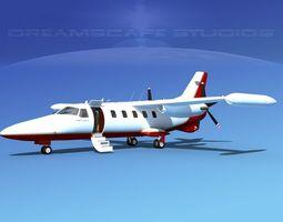 Dreamscape AF-46 Turbo Star Executive V03 3D Model