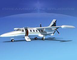 Dreamscape AF-46 Turbo Star Executive V04 3D Model