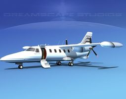 Dreamscape AF-46 Turbo Star Executive V06 3D Model