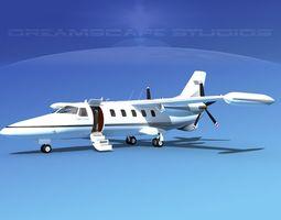Dreamscape AF-46 Turbo Star Executive V08 3D Model