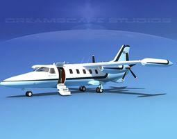 Dreamscape AF-46 Turbo Star Executive V10 3D Model