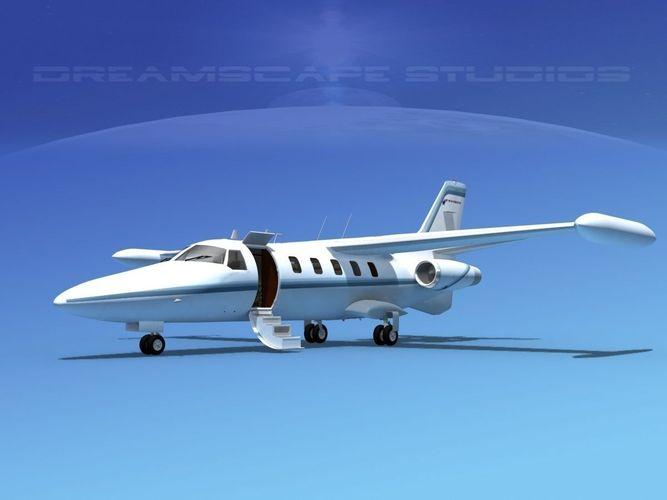 Dreamscape AT-48 Jet Executive V023D model