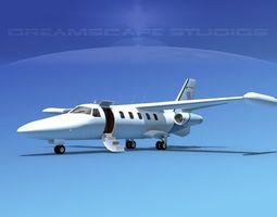 Dreamscape AT-48 Jet Executive V04 3D Model