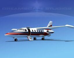 Dreamscape AT-48 Jet Executive V05 3D Model