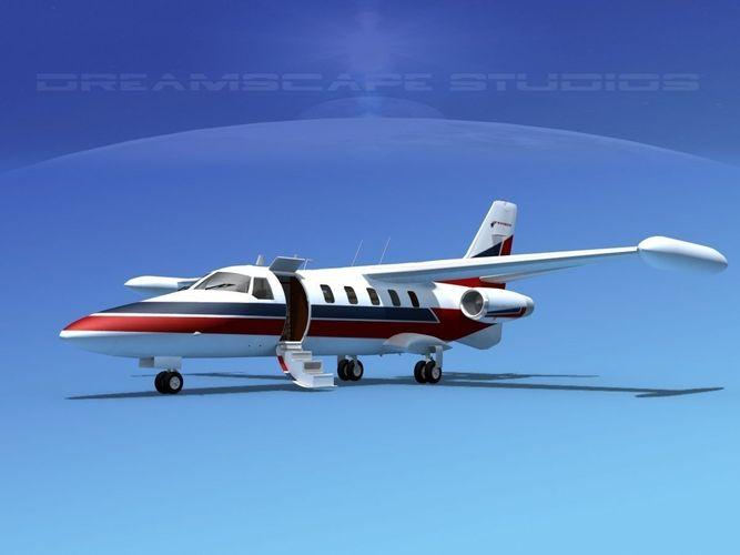 Dreamscape AT-48 Jet Executive V053D model
