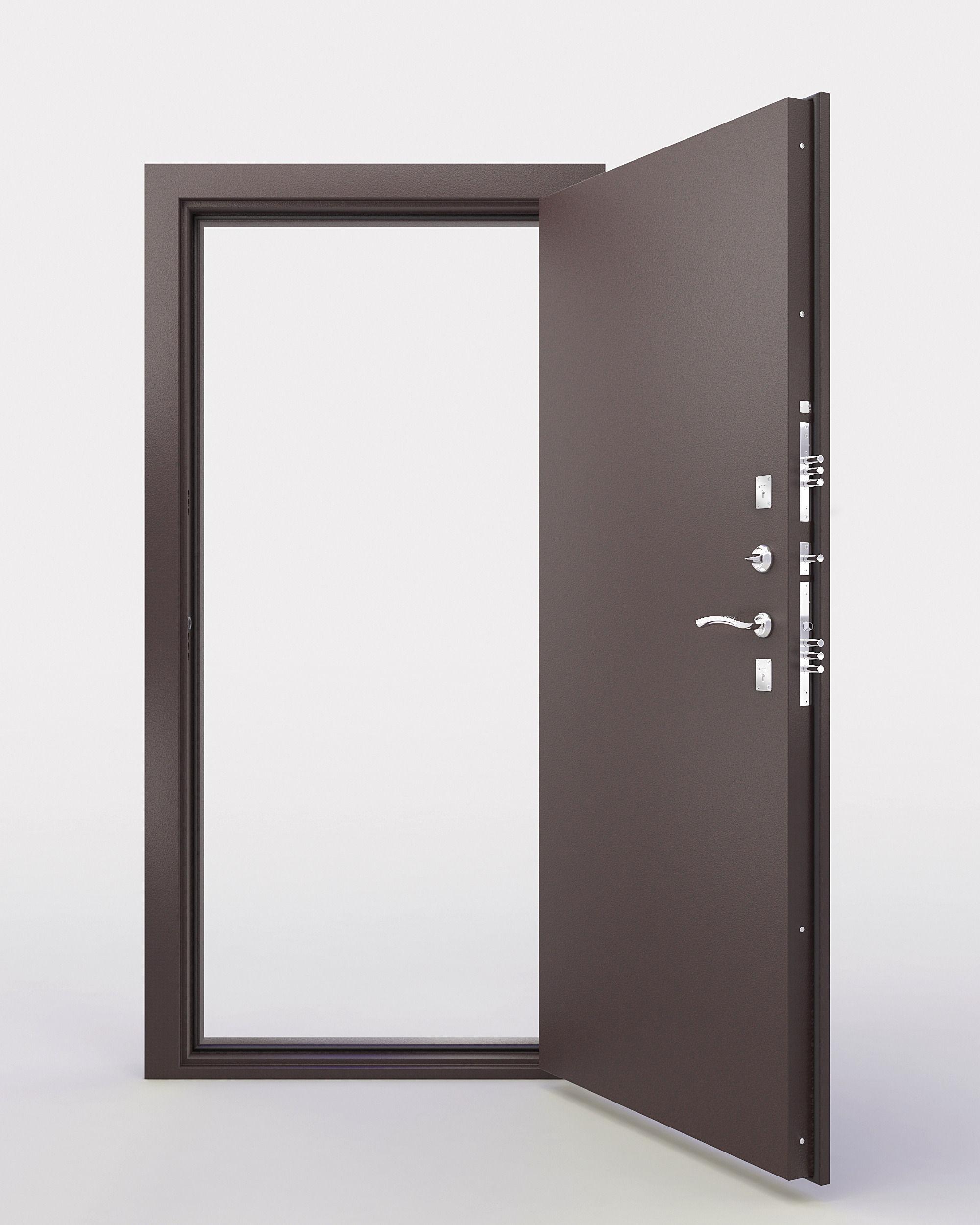 The front door 3d model max for New model front door