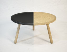 3D model Tablo table by normann Copenhagen