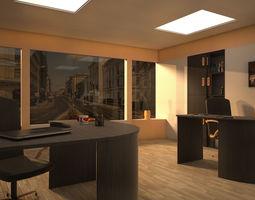3d model vray office 001