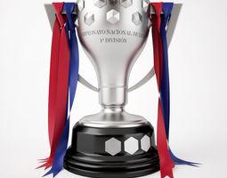 Spain La Liga Trophy 3D Model