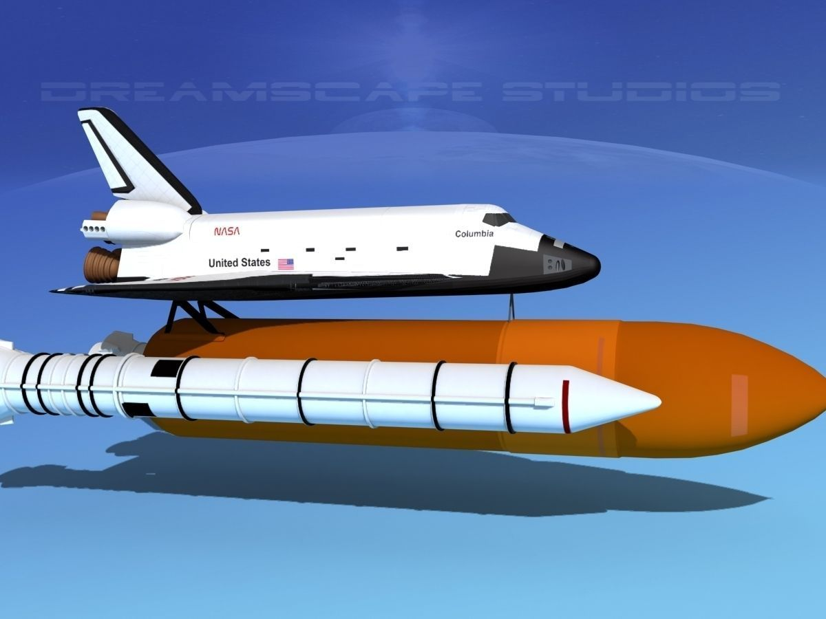 space shuttle 3 view - photo #13