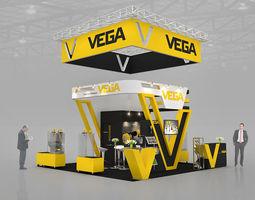 3D Max exhibitions design VEGA bands 3D Model