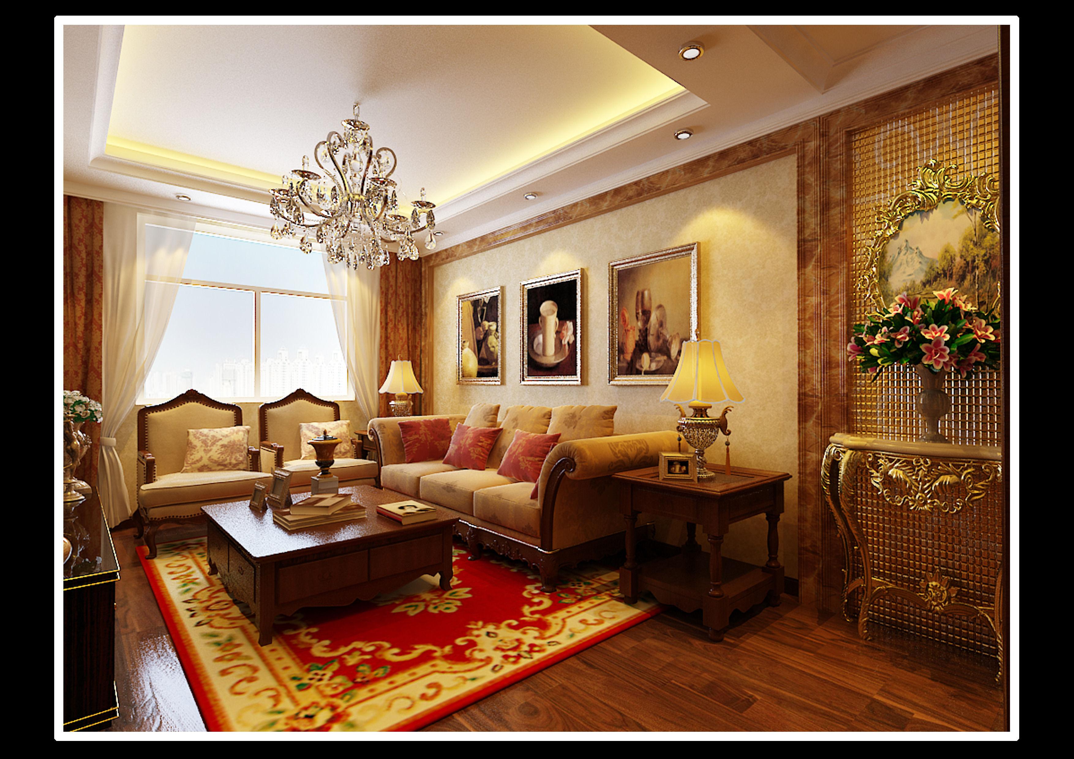Realistic interior design 137 3d model max for Realistic living room ideas