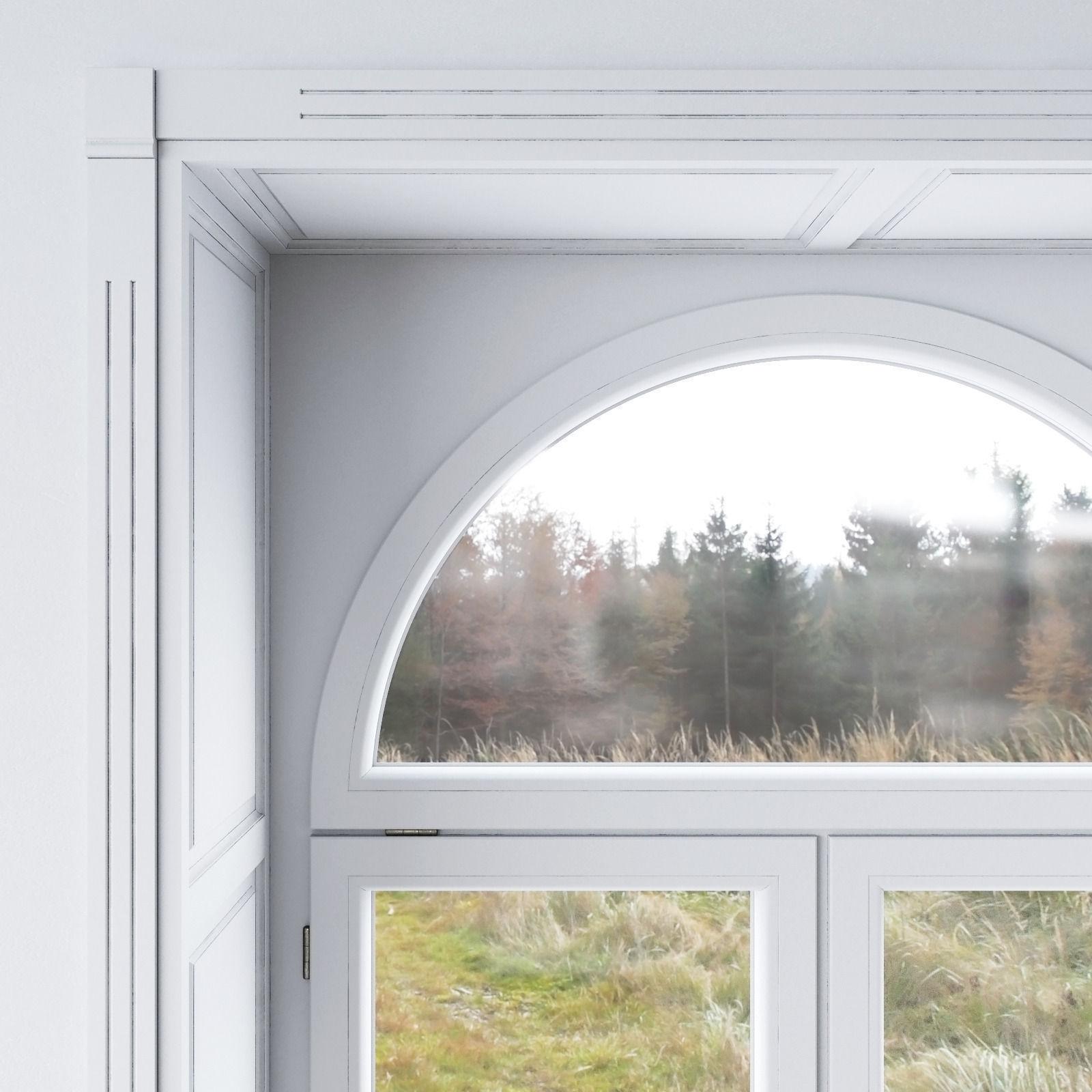 White window 3d model max obj fbx mtl for Window 3d model