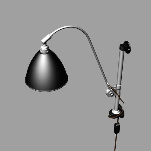 3d Wall Lamp Dwg : wall lamp BL 5 3D Model .obj .3ds .fbx .3dm .dwg - CGTrader.com