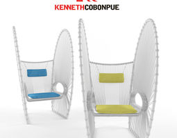 3D kenneth cobonpue papillon