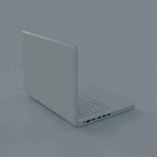 laptop 3d model max 1