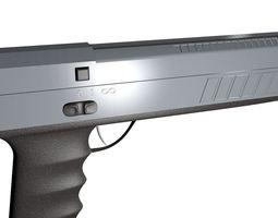 3d pistol