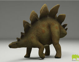 Schleich Toy Stegosaurus 3D Model