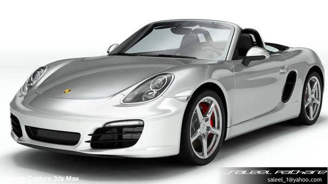 Porsche Boxster S 20153D model