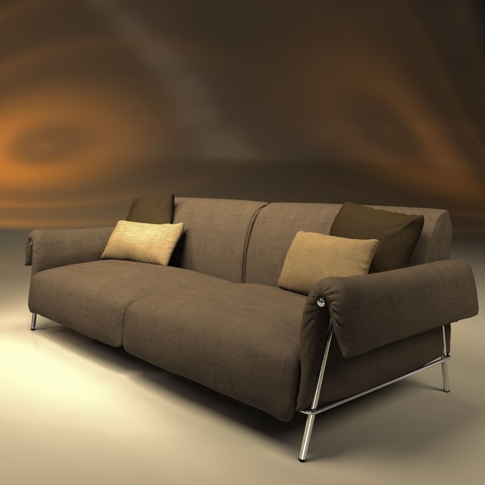 Sofa and chair chat design carlo colombo 3d model obj 3ds for Carlo colombo