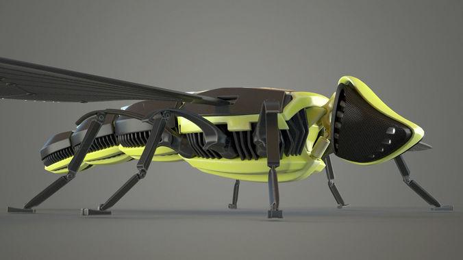 Bee Robot3D model