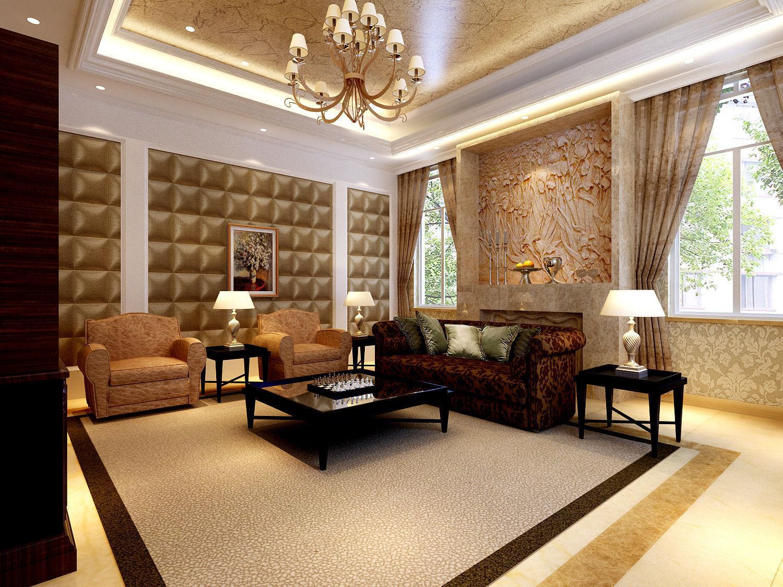 European Style Living Room 21 3d Model Max Cgtrader Com