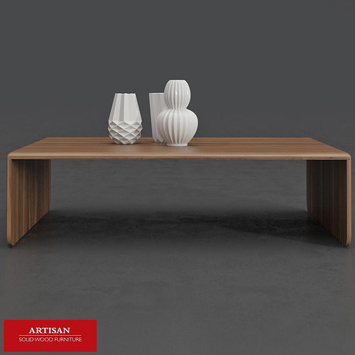 Artisan Invito Coffee Table 3d Cgtrader