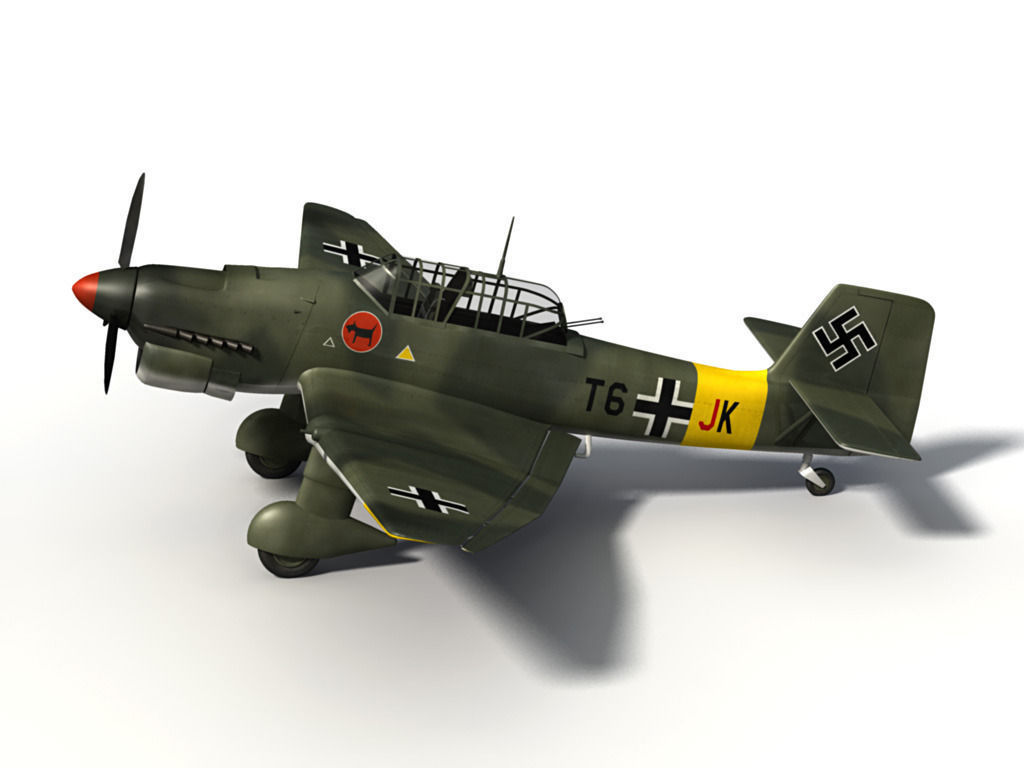 Italeri Junkers JU-87 B-2 STUKA (1:48) (IT-2690) | Astra