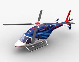 Bell 429 3D Model