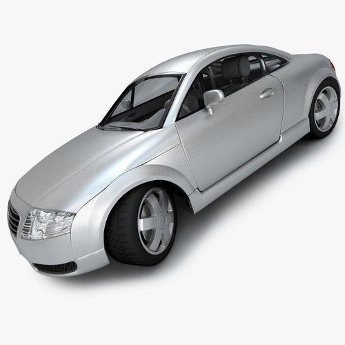 Audi TT car3D model