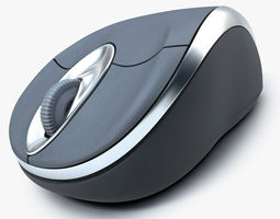 3D Computer Mouse - Rigged