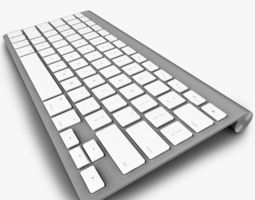 Apple Keyboard 3D