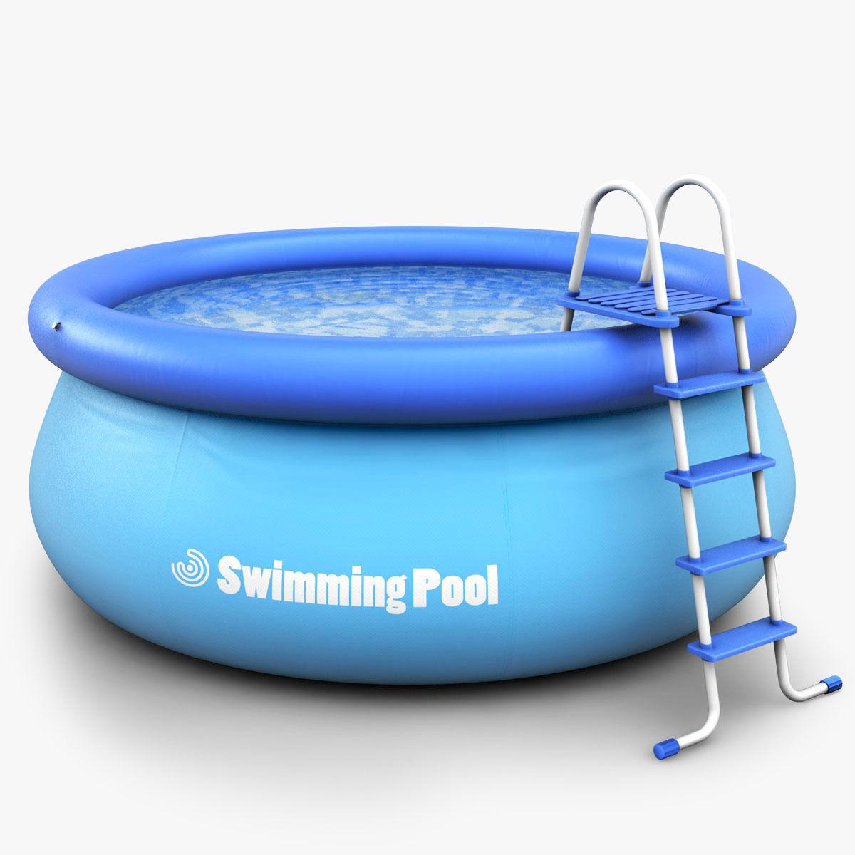 Kids Swimming pool 3D   CGTrader