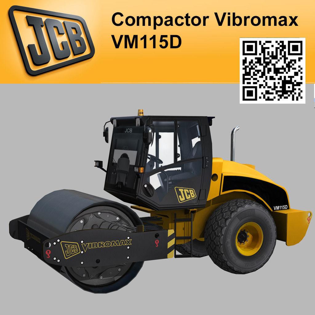 Compactor JCB Vibromax VM115 2012