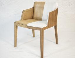 3D model POLTRONA FRAU Beatrice armchair