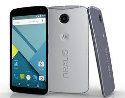 Motorola Google Nexus 6 3D Model