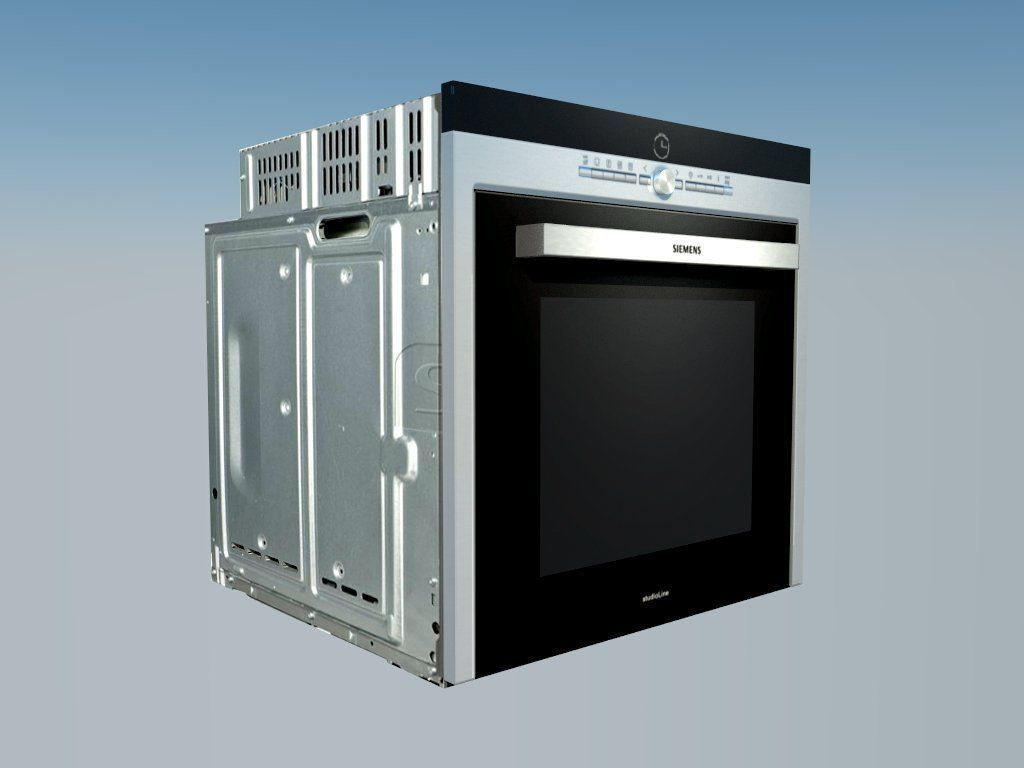 Oven siemens iQ700 3D Model rigged .skp - CGTrader.com