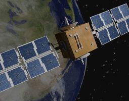3D Satellite earth