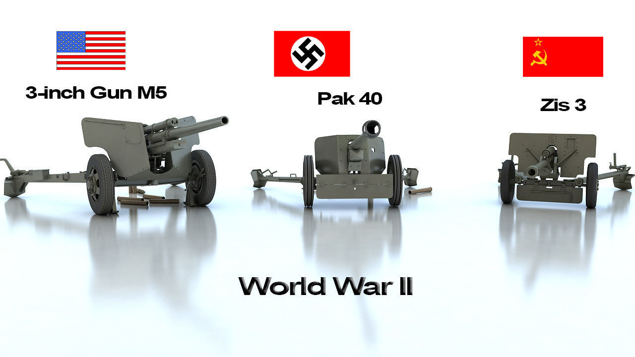 Anti tank guns ww2