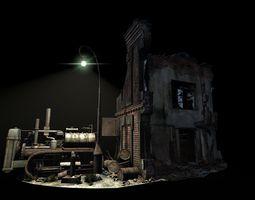 Street  Battle 02 3D Model