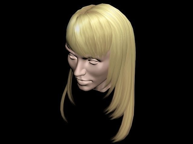 3d model of blonde - photo #48