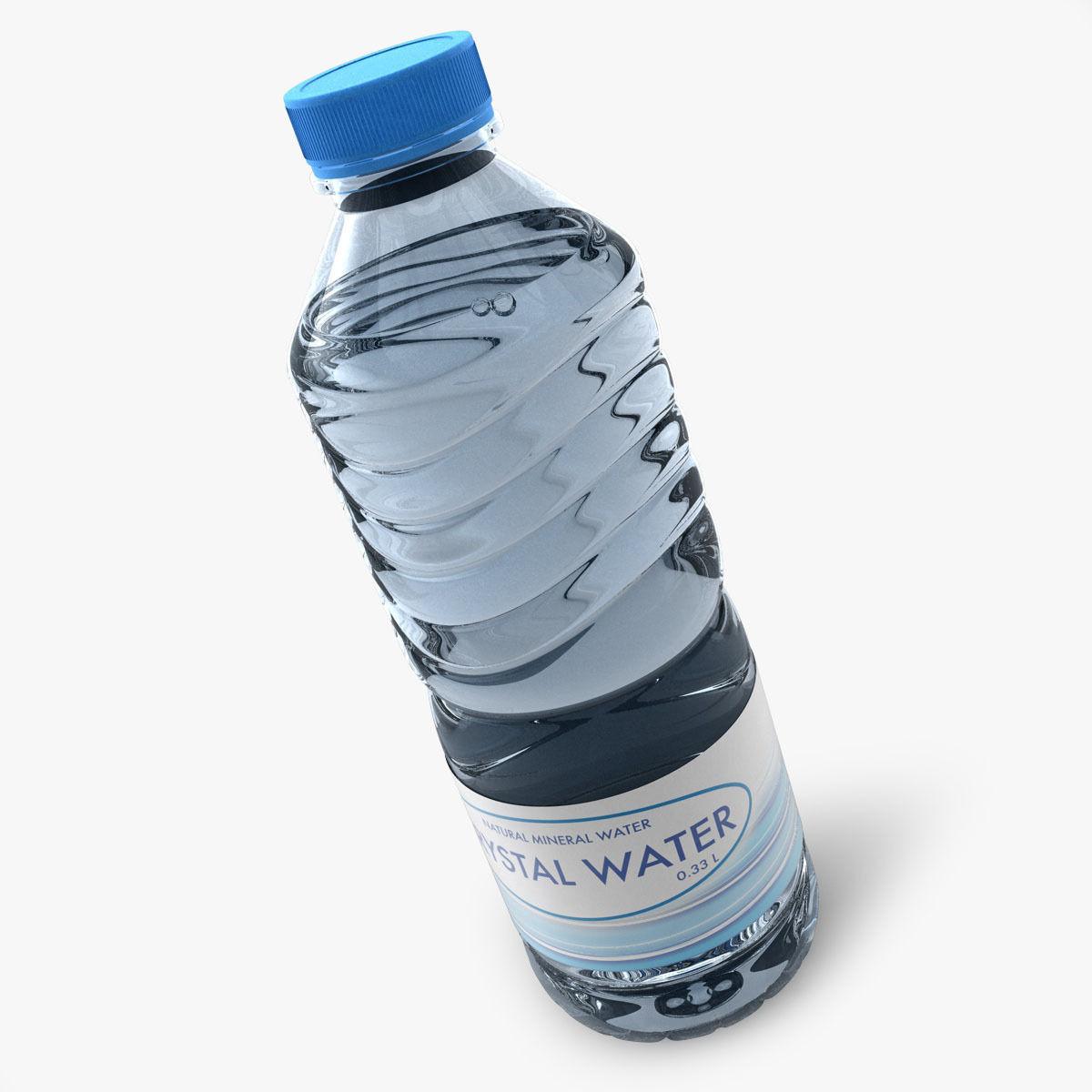 Searched 3d models for 0. 5 (1/2) liter spring water bottle.