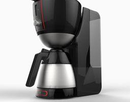 Realistic Coffee Maker 3D Model