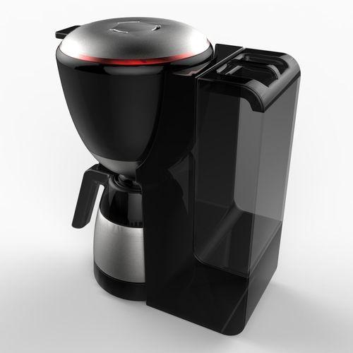 Realistic Coffee Maker 3d Model Max Obj 3ds C4d Lwo