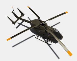 Eurocopter UH72 Lakota 3D Model