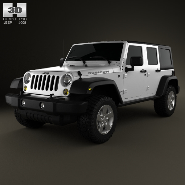 Jeep Wrangler Unlimited 2013 3d Model Max Obj Mtl 3ds Fbx C4d Lwo Lw Lws 1  ...