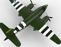 B26 Marauder 3D Model