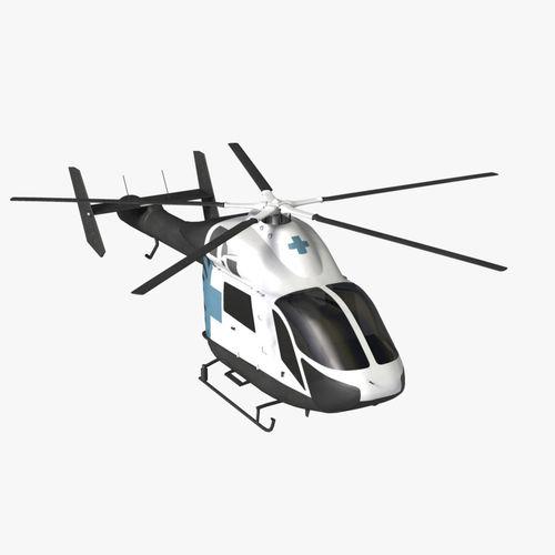 MD 900 Explorer Helicopter3D model
